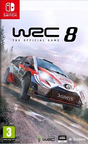 Carátula de WRC 8 - Nintendo Switch