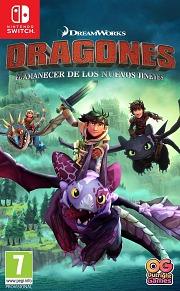 Carátula de Dragones: El Amanecer De Los Nuevos Jinetes - Nintendo Switch