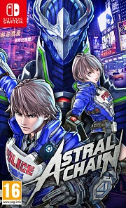 Carátula de Astral Chain - Nintendo Switch
