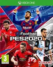 Carátula de PES 2020 - Xbox One