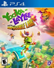 Carátula de Yooka-Laylee and the Impossible Lair - PS4
