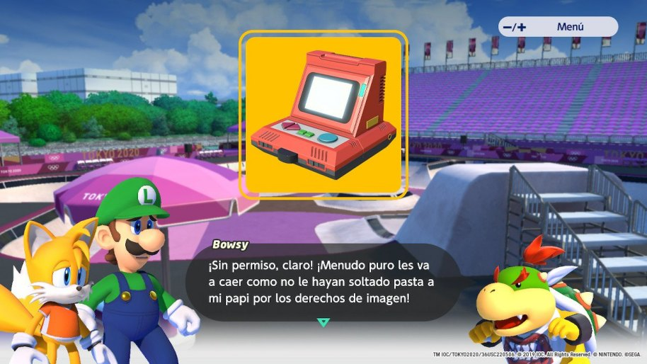 Mario y Sonic JJ.OO Tokio 2020 Nintendo Switch