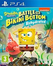 Carátula de SpongeBob SquarePants: Battle for Bikini Bottom - PS4