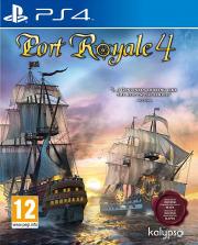 Carátula de Port Royale 4 - PS4