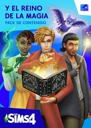 Carátula de Los Sims 4 y El Reino de la Magia - Mac