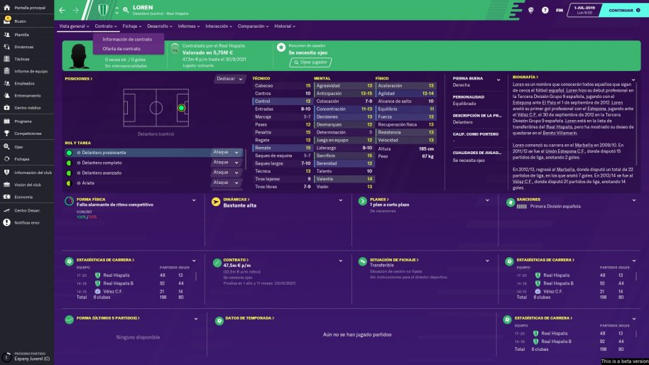 Football Manager 2020 análisis