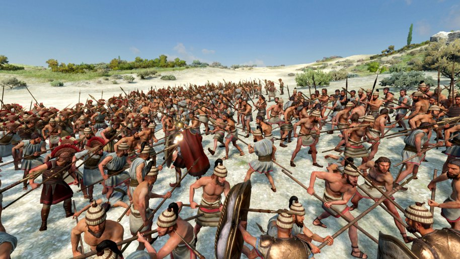 A Total War Saga Troy Linux