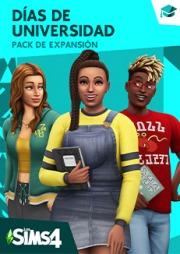 Carátula de Los Sims 4: Días de Universidad - Mac