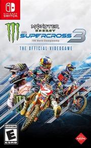 Carátula de Monster Energy Supercross 3 - Nintendo Switch