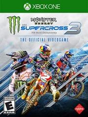 Carátula de Monster Energy Supercross 3 - Xbox One