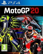Carátula de MotoGP 20 - PS4