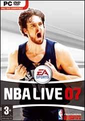 Carátula de NBA Live 07 - PC