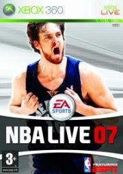 Carátula de NBA Live 07 - Xbox 360