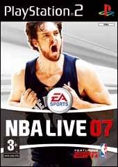 Carátula de NBA Live 07 - PS2