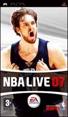 Carátula de NBA Live 07 - PSP