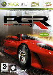 Carátula de Project Gotham Racing 3 - Xbox 360