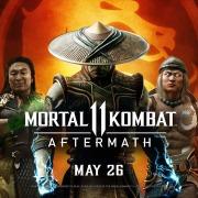 Carátula de Mortal Kombat 11: Aftermath - Nintendo Switch