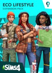 Carátula de Los Sims 4 Vida Ecológica - PS4