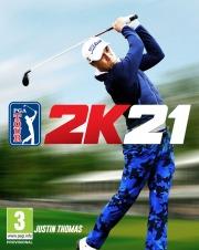Carátula de PGA TOUR 2K21 - PS4