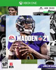 Carátula de Madden 21 - Xbox One