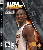 Carátula de NBA 07 - PS3