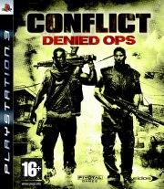 Carátula de Conflict: Denied Ops - PS3