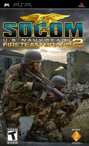 Carátula de SOCOM: U.S. Fireteam Bravo 2 - PSP