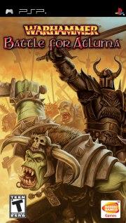 Carátula de Warhammer: Battle for Atluma - PSP