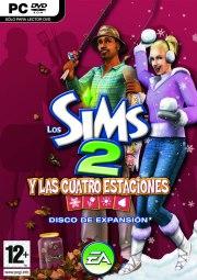 Car�tula oficial de Sims 2: Las Cuatro Estaciones PC