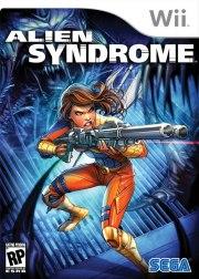 Carátula de Alien Syndrome - Wii