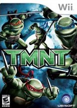 Carátula de TMNT - Wii