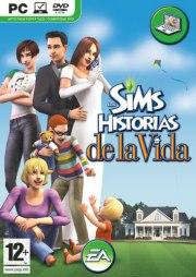 Car�tula oficial de Los Sims Historias de la Vida PC