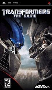 Carátula de Transformers: The Game - PSP