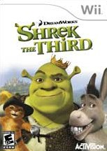 Carátula de Shrek Tercero - Wii