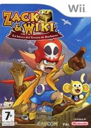 Carátula de Zack y Wiki - Wii