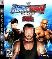 Carátula de WWE SmackDown Vs. Raw 2008 - PS3