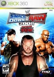 Carátula de WWE SmackDown Vs. Raw 2008 - Xbox 360