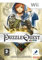 Carátula de Puzzle Quest: Challenge Warlords - Wii