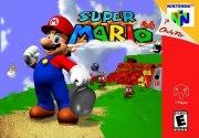 Carátula de Super Mario 64 - Wii