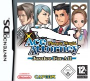 Carátula de Phoenix Wright: Justice for All - DS