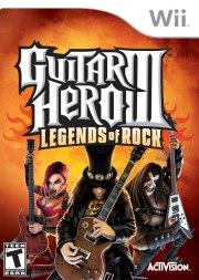 Carátula de Guitar Hero 3 - Wii