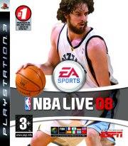 Carátula de NBA Live 08 - PS3