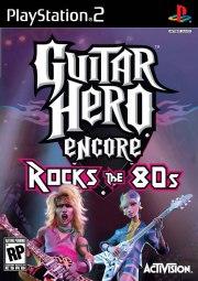 Carátula de Guitar Hero: Rocks the 80s - PS2