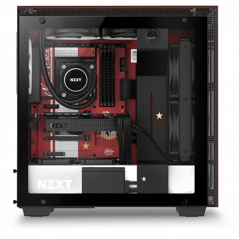 NZXT presenta una torre de ordenador inspirada en Nuka-Cola