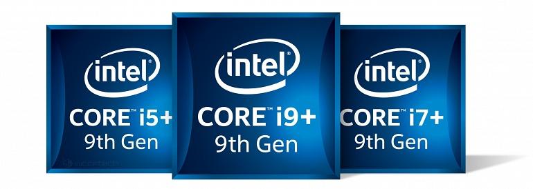 Este es el rendimiento de tres CPU de 9ª generación de Intel