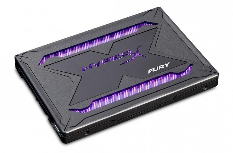 HyperX Gaming presenta una unidad SSD con RGB