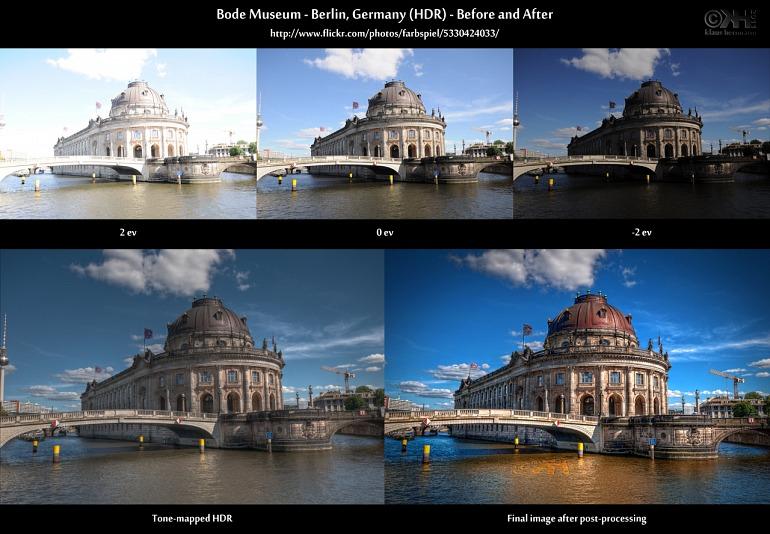 Ejemplo de HDR en fotografía.