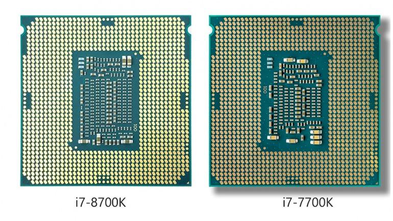 Conexiones de ambos procesadores. Las diferencias son mínimas entre ambos.