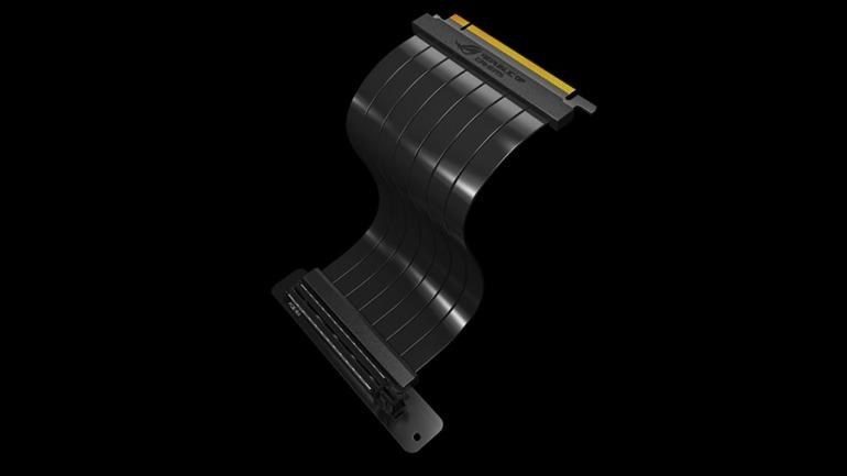 Este cable de Asus te hará plantearte colocar tu tarjeta gráfica en vertical