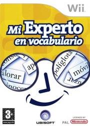 Carátula de Mi experto en vocabulario - Wii